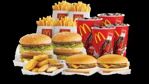 Cashless party McDonalds